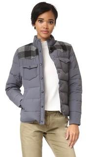 Пуховая куртка Rockford с кокеткой в клетку Penfield