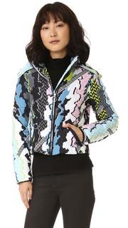 Пуховое пальто Versace