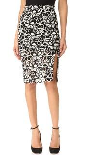 Юбка с цветочным рисунком Boutique Moschino