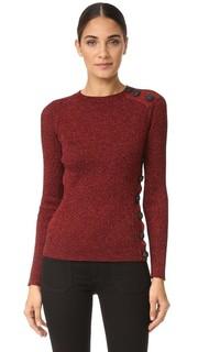 Металлизированный свитер Cedric Charlier