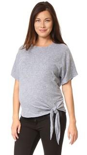 Объемная футболка для беременных Monrow