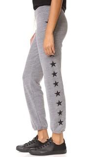 Спортивные брюки из темной меланжевой ткани Monrow