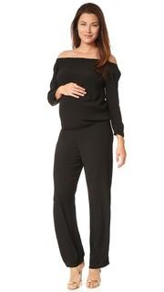Комбинезон с открытыми плечами для беременных Monrow