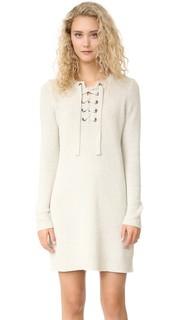 Платье-свитер со шнуровкой Madewell