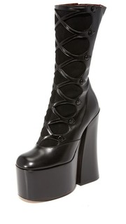 Ботинки Dede на платформе с пуговицами Marc Jacobs