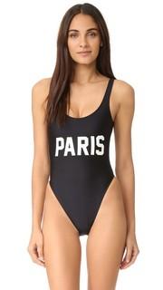 Сплошной купальник Paris Private Party