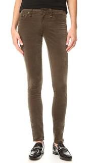 Узкие бархатные джинсы Rag & Bone/Jean