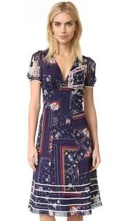 Длинное платье Tea с рисунками в стиле банданы Hilfiger Collection