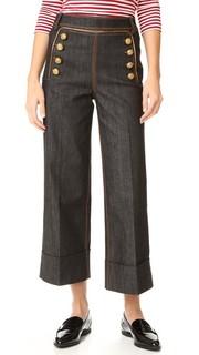 Укороченные брюки в морском стиле Hilfiger Collection