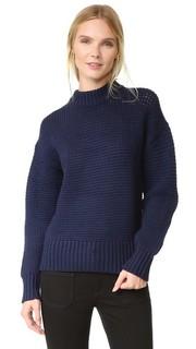 Свитер с заниженными плечевыми швами Pure DKNY