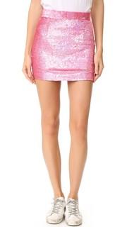 Мини-юбка с блестками Ashish