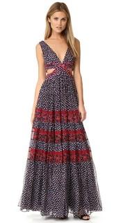 Платье с вырезом Altessa Diane von Furstenberg