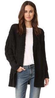 Пальто-кардиган с длинными рукавами от Pure DKNY