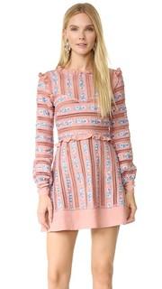 Платье с вышивкой Persephone For Love & Lemons