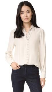 Блуза на пуговицах в викторианском стиле Frame