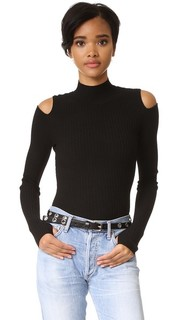 Пуловер с открытыми плечами Live THE Process