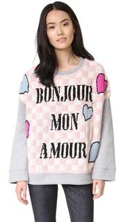 Свободная толстовка Bonjour Mon Amour Michaela Buerger