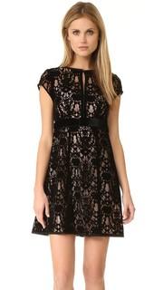 Кружевное платье Boudoir Nanette Lepore