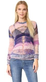 Блестящий свитер свободной вязки Rodarte