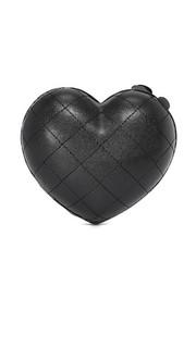 Стеганый клатч Heart Serpui Marie