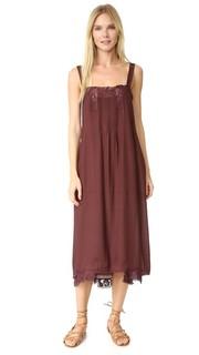 Платье-комбинация с защипами THE Great.