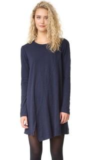 Платье-трапеция асимметричного кроя Wilt