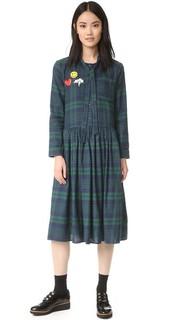 Платье в клетку English Factory