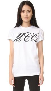 Классическая футболка McQ - Alexander Mc Queen