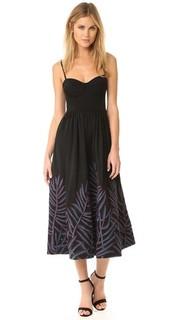 Платье-бюстье Leaf с вышивкой Mara Hoffman