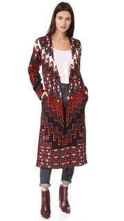Пальто-свитер Bolnisi Rug Mara Hoffman