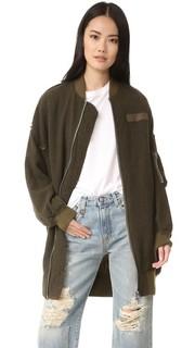 Объемная летная куртка X R13