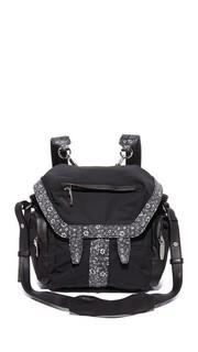 Нейлоновый миниатюрный рюкзак Marti Alexander Wang