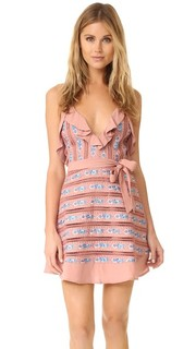 Платье Persephone без рукавов с вышивкой For Love & Lemons