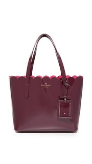 Небольшая объемная сумка с короткими ручками Carrigan Kate Spade New York