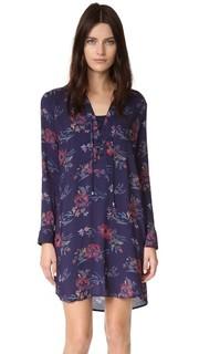 Платье-рубашка со шнуровкой Splendid