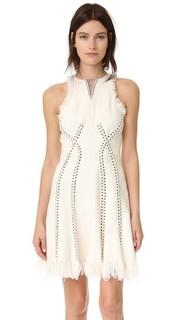 Платье без рукавов с элементом в стиле пирсинга Alexander Wang