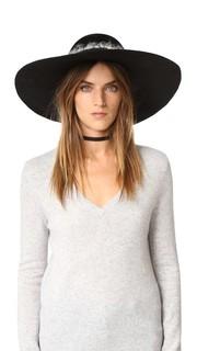 Шляпа Honey с широкими полями Eugenia Kim
