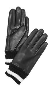 Короткие перчатки с вязаными манжетами Kate Spade New York