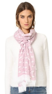 Продолговатый шарф Swans Kate Spade New York