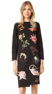 Платье Liberace XY с вышивкой Aries