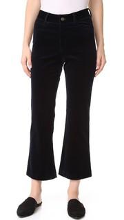 Укороченные расклешенные вельветовые брюки Jenni Kayne