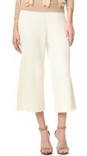 Укороченные брюки из рубчатого трикотажа Jonathan Simkhai