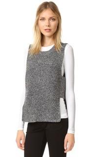 Структурированный пуловер без рукавов Madewell