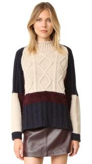 Разноцветный свитер Otto Dame