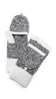 Кашемировые митенки Francesca с удобным дизайном для использования телефона Rag & Bone