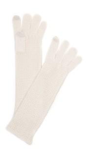 Трикотажные перчатки Garter для использования сенсорных экранов Rebecca Minkoff