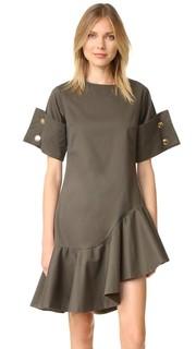 Платье с оборками Viva Aviva