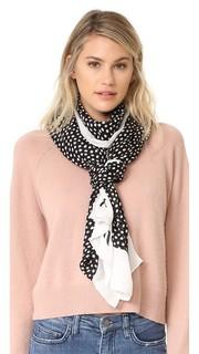 Продолговатый шарф в горошек Kate Spade New York