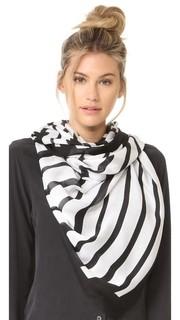 Продолговатый шарф Piano Keys Kate Spade New York