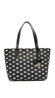 Маленькая объемная сумка с короткими ручками Ryan Kate Spade New York